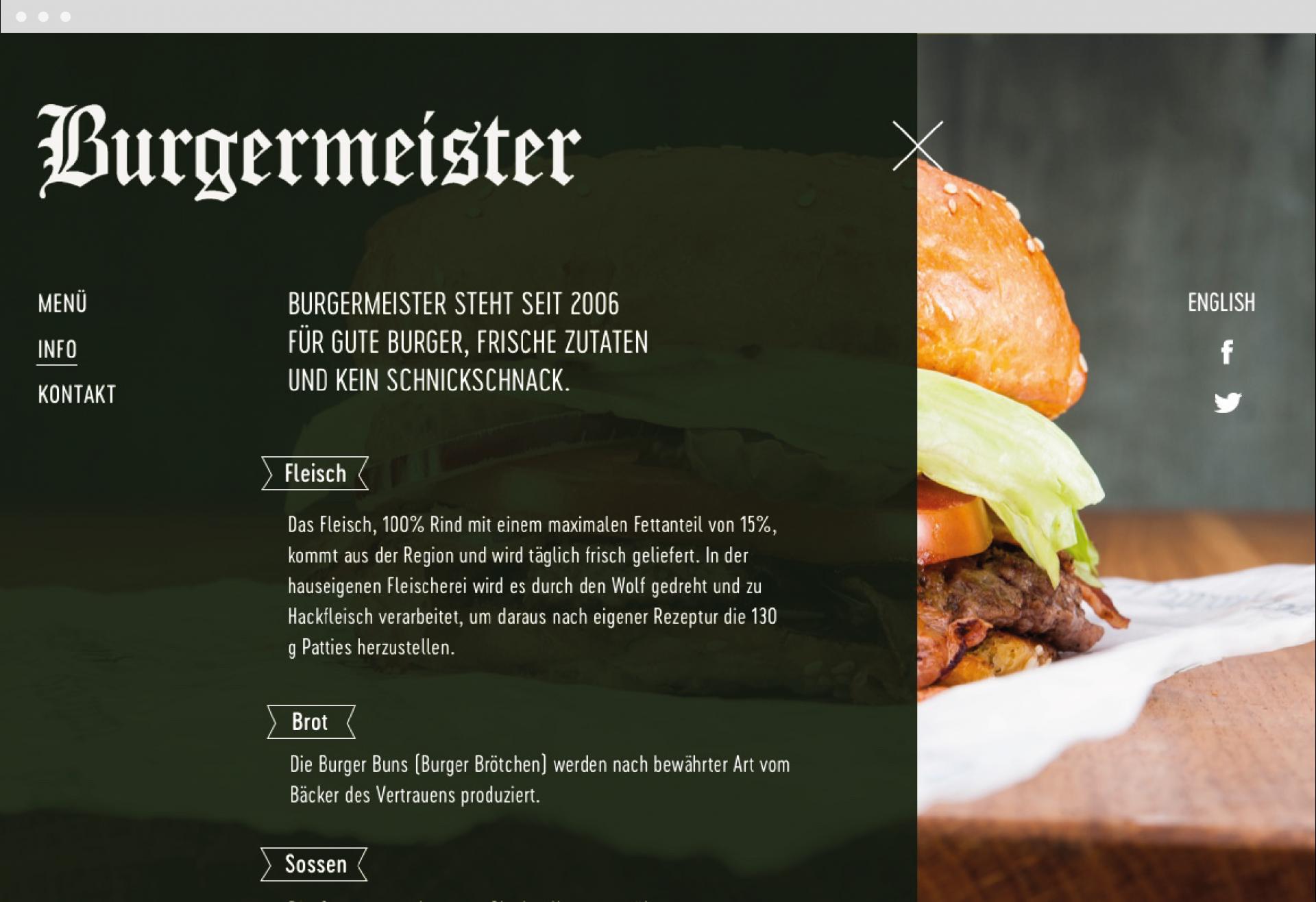 REGINE RACK Burgermeister
